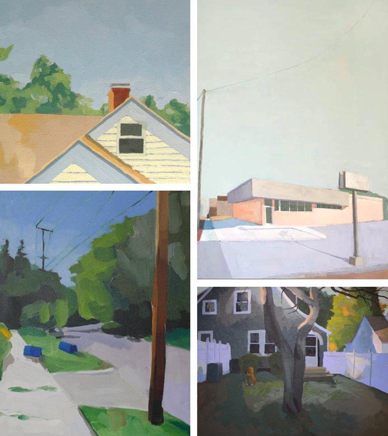 Elizabeth Mayville Landscapes