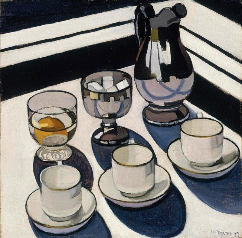 Margaret Preston Implement blue 1927