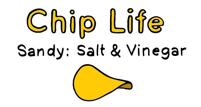 chip life :: sandy :: salt & vinegar