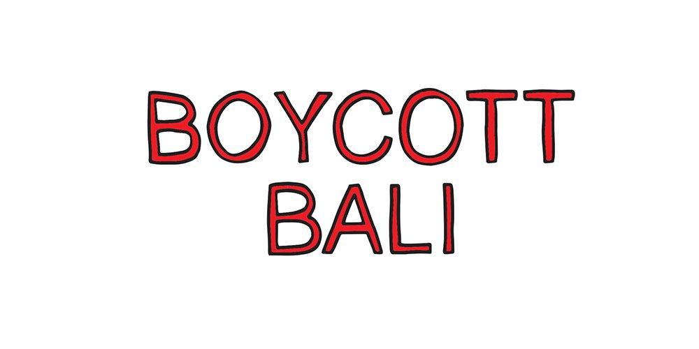 boycott bali