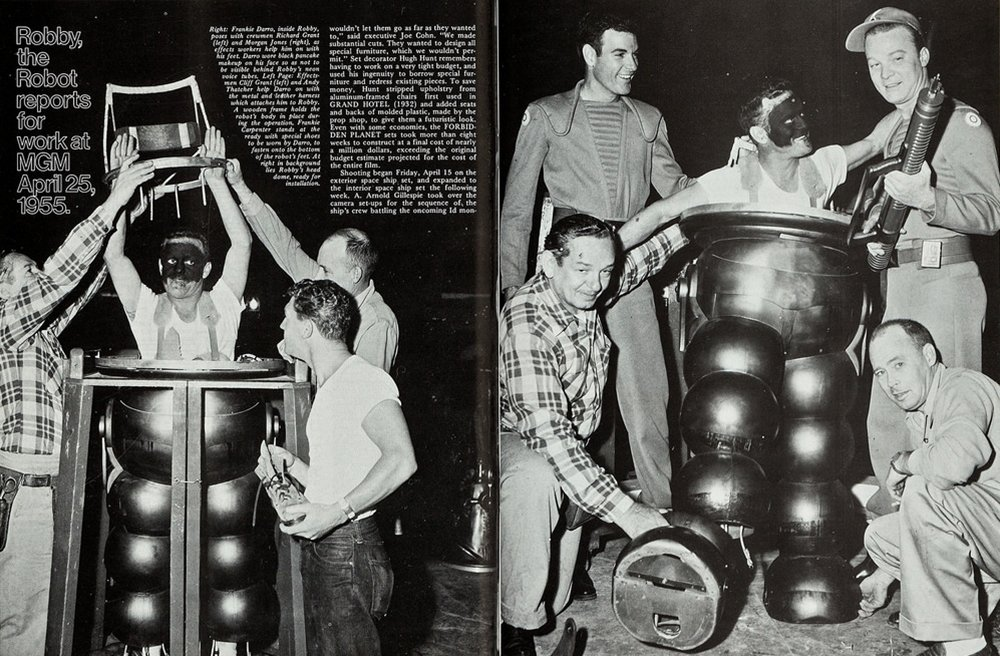 Frankie Darro as Robby The Robot 1955