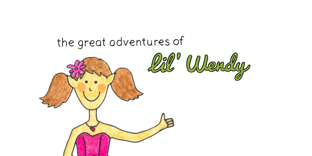 Lil' Wendy: 52 week illustration challenge WEEK 14