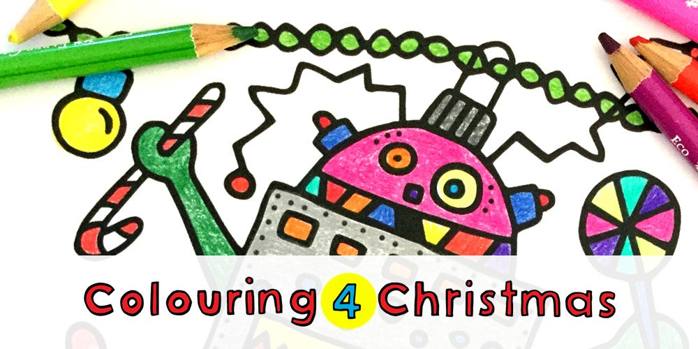 Colouring 4 Christmas is here :)
