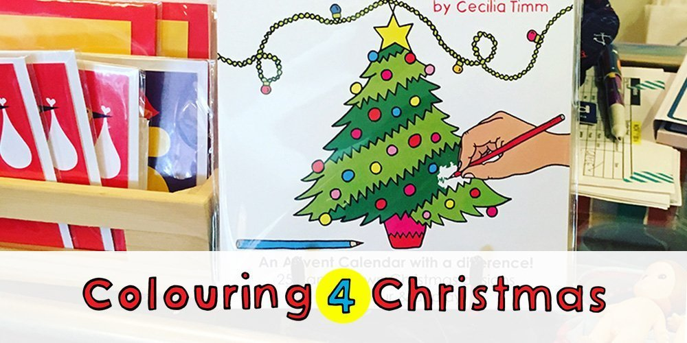 Colouring 4 Christmas in stock at Shorties in Newtown